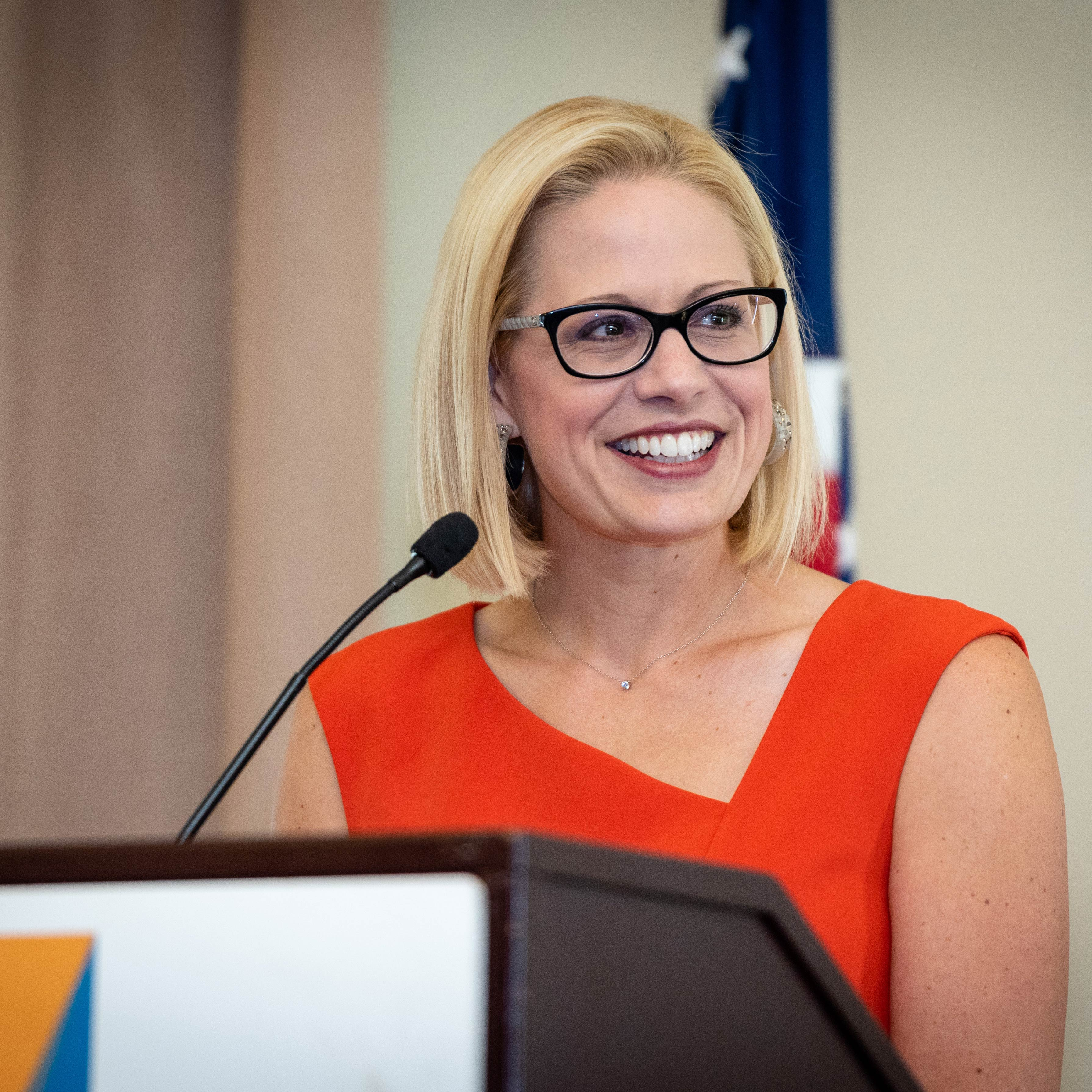 Official Photo of Senator Kyrsten Sinema